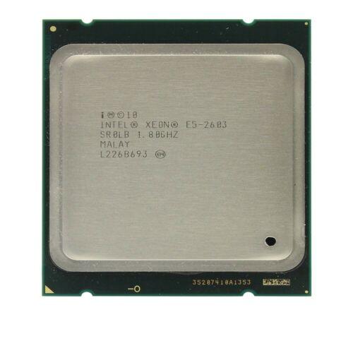 Intel Xeon E5-2603 CPU 1.8GHz 4-Core Processor 10MB 6.4GTs LGA2011 SR0LB