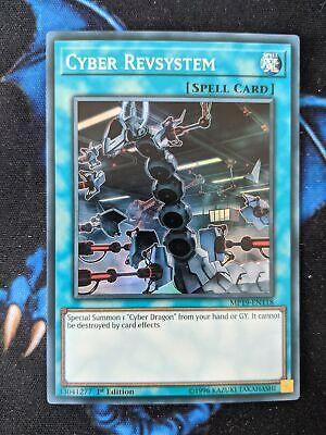 Cyber Revsystem Yugioh Engli 1st Edition Near Mint Super Rare MP19-EN118