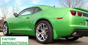 Details About 4 20 Tire Package Staggered Chrome Z28 Style Fits 10 19 Camaro Wheels Rims