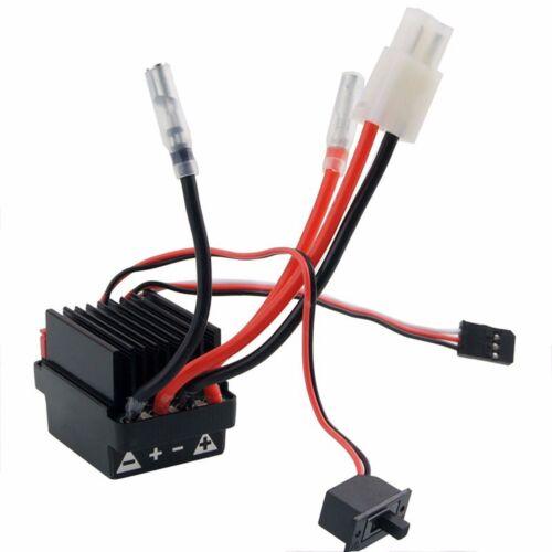 320A 7.2V-16V High Voltage ESC Brushed Speed Controller for RC Car Truck Boat de