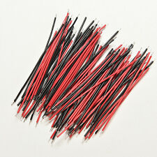 200Pcs Black Red Kit Motherboard Breadboard Jumper Cable Wires Set Tinned 5cm PU