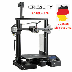 Creality Ender 3 pro 3D Drucker Magnetisch Bett 220X220X250MM DE STOCK