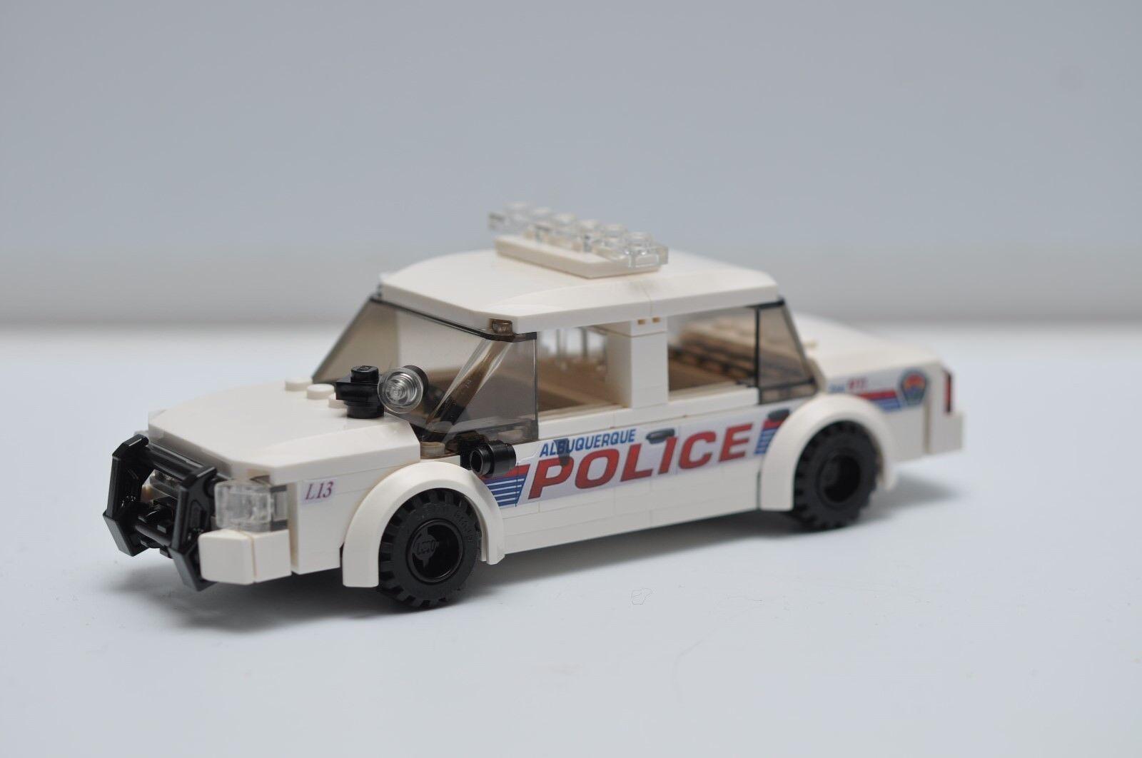 LEGO City Police Car Cop White Albuquerque NM Breaking Bad Speed Champions
