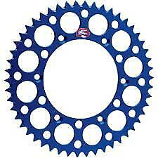 Renthal 47T Blue Rear Sprocket 150A-520-47BU to fit Yamaha YZ250 2002-2004