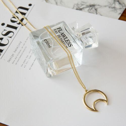 Collar media luna Jewerly Fashion