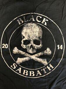 BLACK-SABBATH-Skull-amp-Crossbones-2014-Tour-T-Shirt