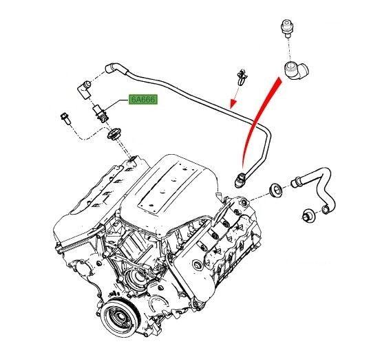 Ford 5 4 Pcv Valve