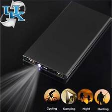 300000MAH DUAL POWER BANK CHARGER BATTERY PACK PORTABLE USB MOBILE IPHONE UK