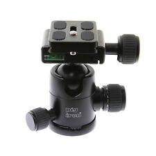 Pig Iron BH-1E Pro Tripod Ball Head with Quick Release. 4kg Load. 5yr Warranty.