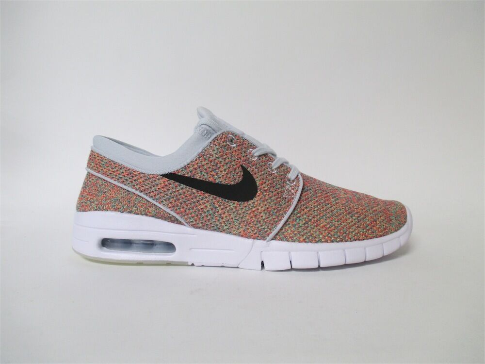 Nike SB Janoski Max Air Max Day White Black Platinum Multi Sz 8.5 631303-704