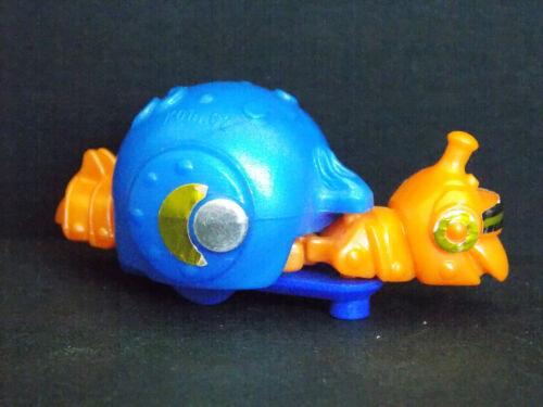 Jouet Kinder Animaux Robots bleu K01 62 France 2000 /& ses 7 autocollants BPZ