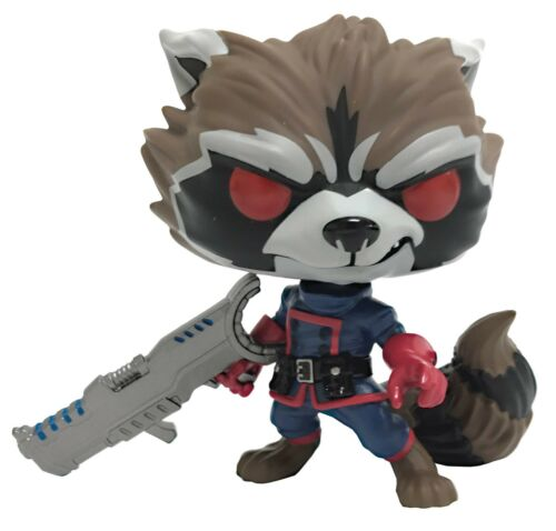FUNKO POP MARVEL GOTG COMIC ROCKET RACCOON CLASSIC PX 4 INCH VINYL FIGURE NEW!