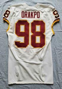 #98 Brian Orakpo of Redskins NFL Locker Room Game Issued Jersey