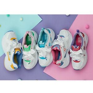 Skechers-D-Lites-Airy-2-0-X-Sailor-Moon-White-Women-Fashion-Chunky-Shoes-Pick-1