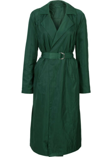 dunkelgrün Langer Mantel  Longmantel  Damenmantel 48