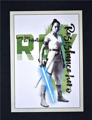 2019 Star Wars Rise of Skywalker Long Live the Resistance #RB-2 Rey