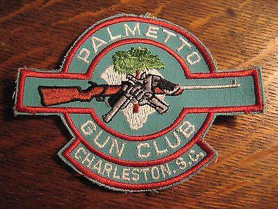 Palmetto Gun Club Patch - Charleston South Carolina USA Rifle Sewn Jacket Badge