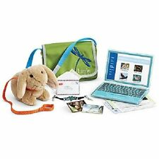 American Girl Doll Lanie's Accessories NEW!! Laptop Bunny