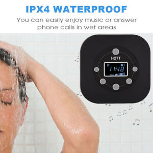 Image Is Loading Hott Bluetooth Hifi Speaker Waterproof Bathroom Shower With