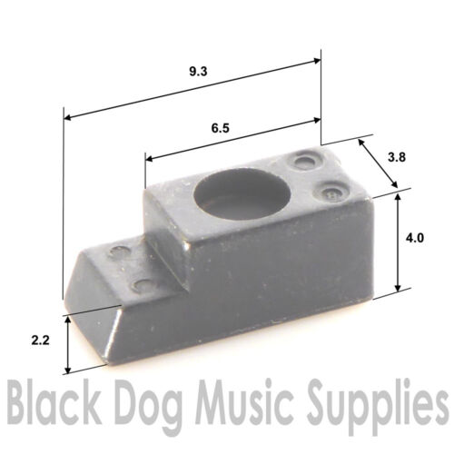 Tremolo string holding block for saddles in set of 6 or single