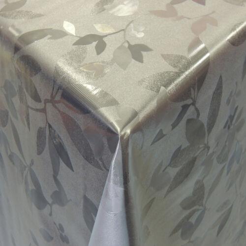 Transparente Plastique Transparent Table Film Protection cristallin environ-Rectangulaire-ovale 0,20 mm