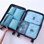 Packing-Cubes-Travel-Pouches-Luggage-Organiser-Clothes-Suitcase-Storage-Bag-7Pcs thumbnail 16