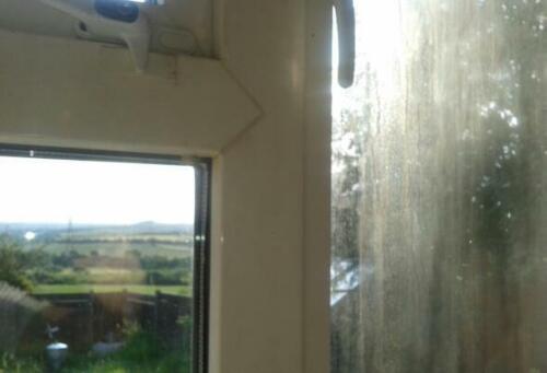 carré Fenêtre Convient pour 1x 4 ft environ 1.22 m D.I.Y Double Vitrage complet Kit de réparation