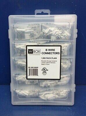 W-Box Technologies B-Wire Connectors 1000 Pack w//Storage Container 0E-SR1000P
