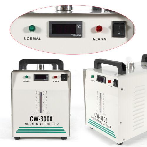 Profi 9L CW-3000 Industrielle Wasserkühler Co2 Laser Schlauch Laserröhre Kühlung