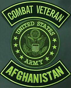 AFGHANISTAN-U-S-ARMY-SEAL-COMBAT-VETERAN-MOTORCYCLE-MILITARY-LOT-OF-3-PATCH