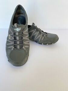 pescado Marchito emergencia  Skechers Womens Bikers Dream Come True Sneakers Gray Slip On Size 9   eBay