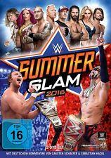 WWE Summerslam 2016 [DVD] *NEU* Deutscher Kommentar / Deutsch Orton vs. Lesnar