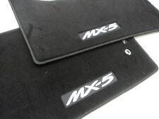 MAZDA MX-5 MIATA 2006-2015 NEW OEM BLACK CARPETED FLOOR MATS 0000-8B-D19A