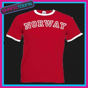 Norvegia-SUONERIA-retro-divertente-maglietta