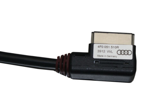 AUDI A6 AVANT C7 4F0051510R 2012 AMI For Apple 4s iPhone Audio Video 27cm Cable