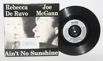 Music on vinyl: Aint no sunshine - Joe McGann and Rebecca