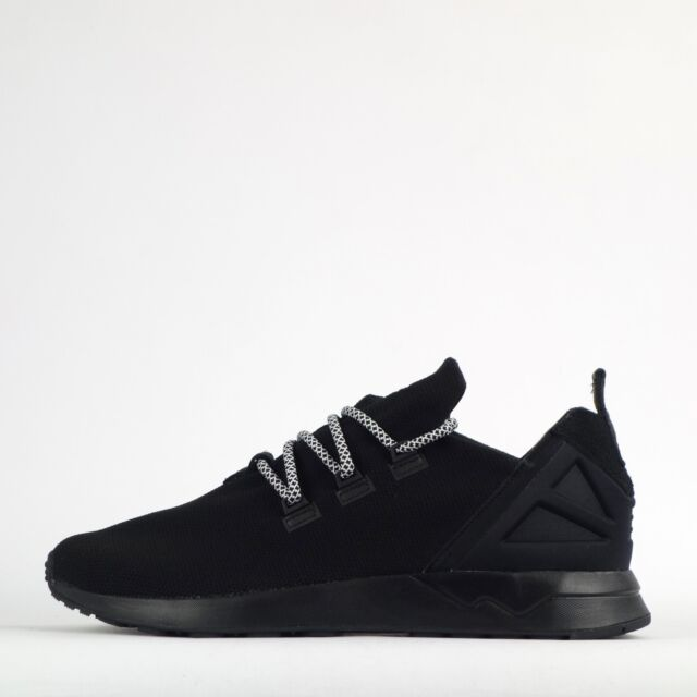 adidas Originals ZX Flux ADV X Mens Casual Trainers Shoes Black