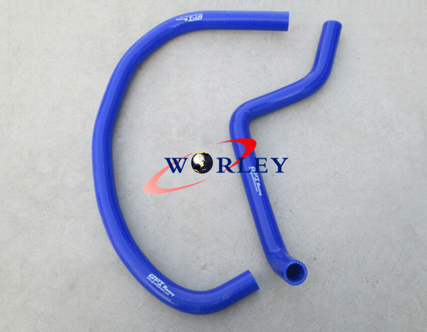 BLUE Silicone radiator hose for SUZUKI LT250R Quadracer 250 1985-1992 86 90 91