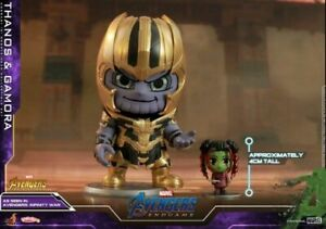 Hot Toys Cosbaby End-game Thanos & Gamora Avengers Figure COSB560 Model Collect