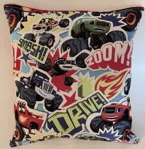 Blaze-Pillow-Monster-Truck-Blaze-Pillow-Handmade-In-USA