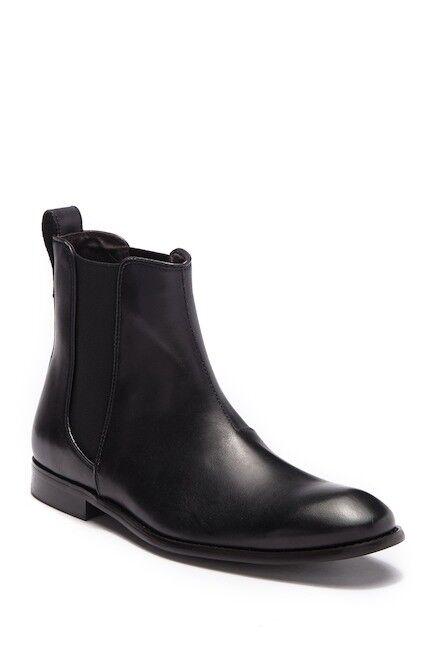 John Varvatos Men's Hallowell Leather nero Chelsea avvio F2305U3B