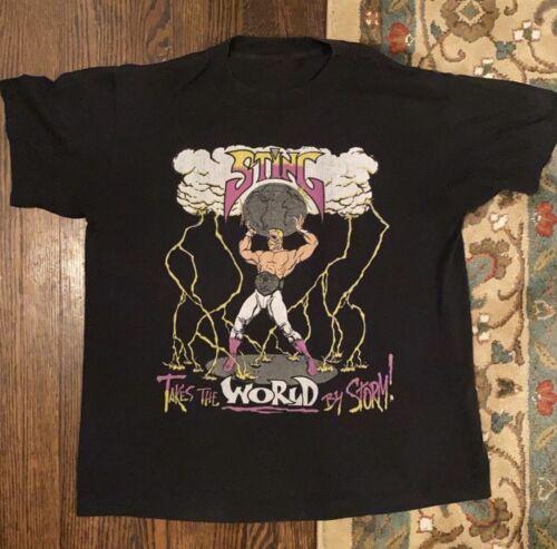 Vintage Sting Wcw Shirt Size M WWF WWE ECW Rare