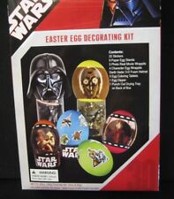Star Wars Easter Egg Decorating Kit 26 stickers Tie Fighter project 3 movie wrap