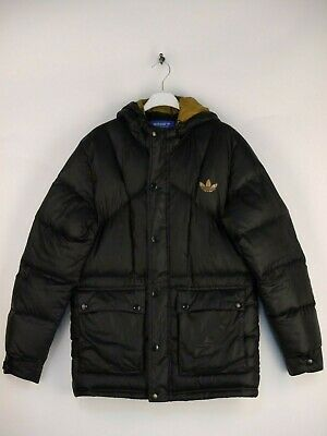 Adidas Originals Daunenjacke Winterjacke Kapuze Jacke Retro