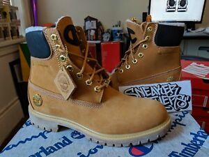e88cf4947a2 Timberland x Champion 6 Inch Luxe Premium WP Warm Lined Boots Wheat ...