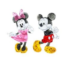 SWAROVSKI COLOR CRYSTAL SET MICKEY & MINNIE MOUSE 2017 DISNEY 5135887 - 5135891