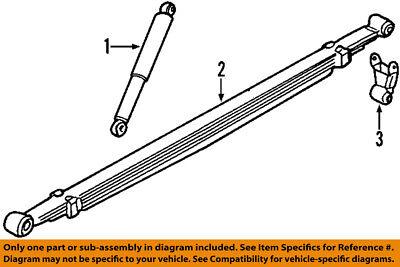 GM OEM Rear-Shock Absorber or Strut 20955408