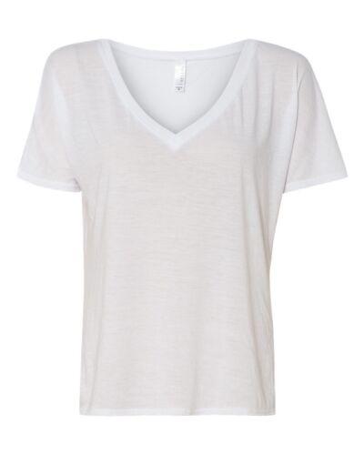 Bella Canvas Men/'s Slouchy V-Neck T-Shirt 8815 M-2XL