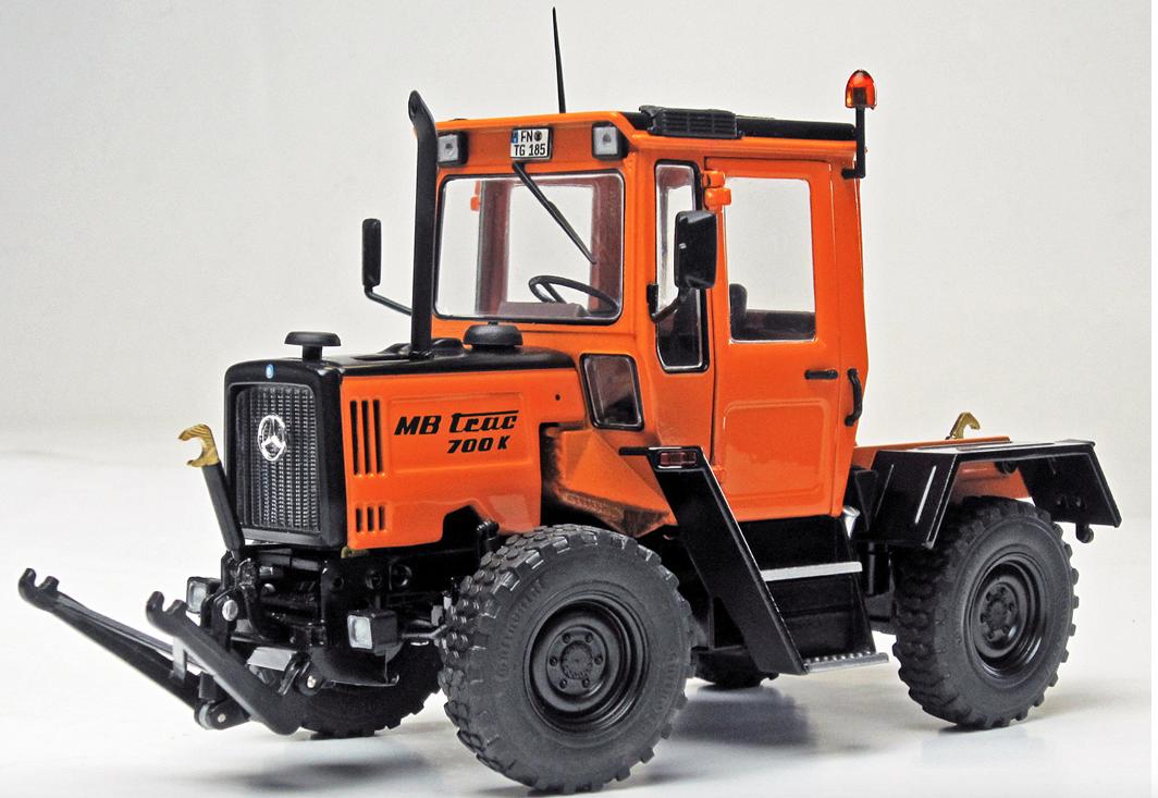 Weise-Toys échelle 1:32 Mercedes Benz MB MB MB Trac 700K commnual 48f4ca