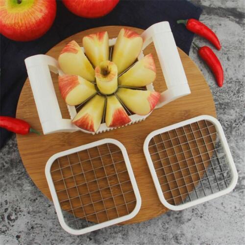 Stainless Steel French Fries Slicer Potato Chipper Cutter Chopper Maker AL